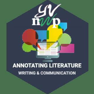 LRNG Badge: Annotating Literature