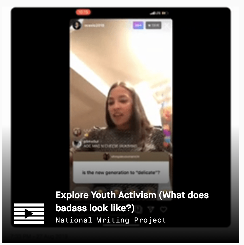 LRNG Playlist: Explore Youth Activism (What does badass look like?)