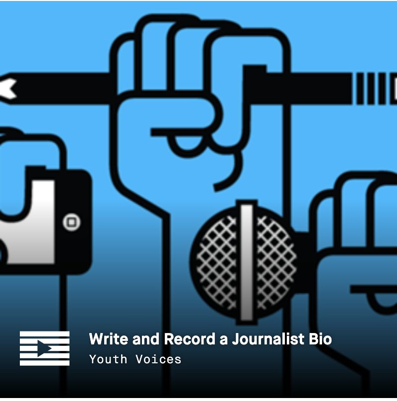 LRNG Playlist: Write and Record a Journalist Bio