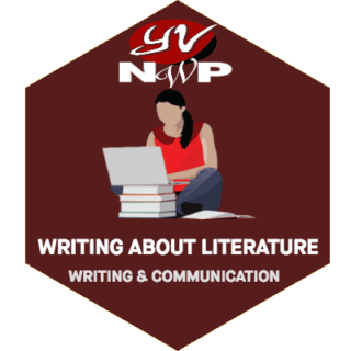 LRNG Badge: Writing About Literatrue