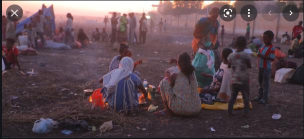 Ethiopians refugee crisis